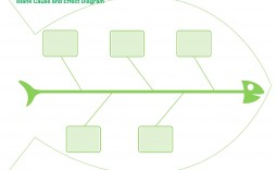 008 Dreaded Blank Fishbone Diagram Template Picture  Downloadable Word Pdf