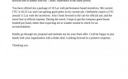 008 Dreaded Counter Offer Letter Template Idea  Real Estate Settlement Debt
