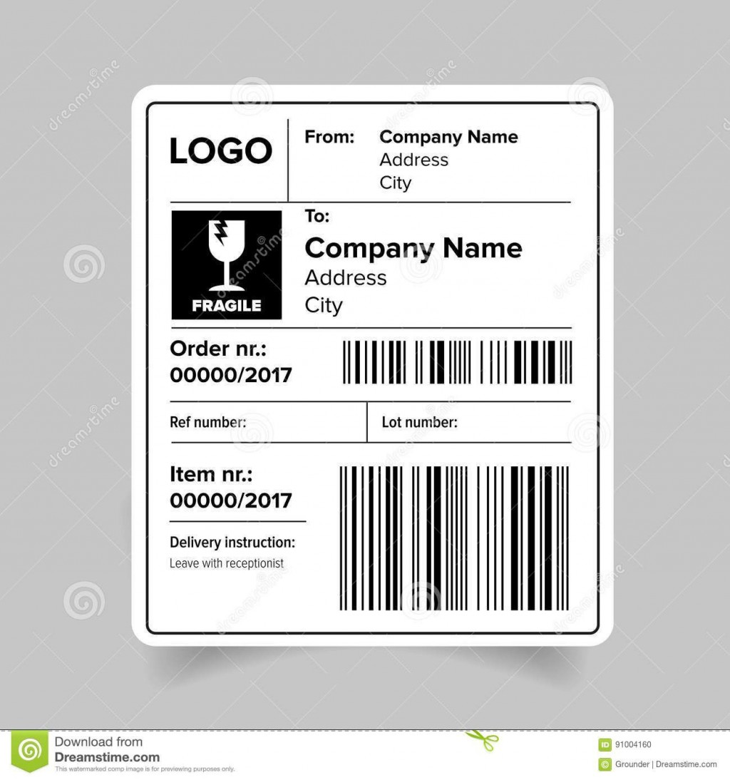 008 Dreaded Free Online Shipping Label Template Highest Quality Large