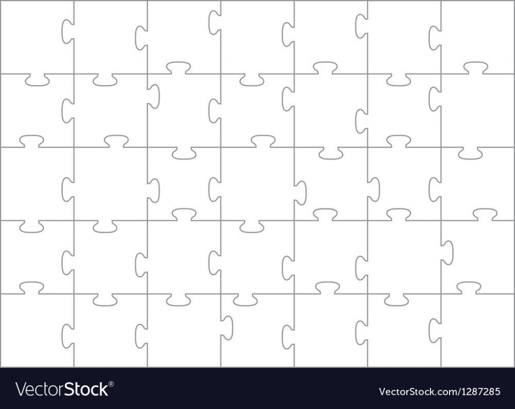 008 Dreaded Jig Saw Puzzle Template High Definition  Printable Blank Jigsaw Vector Free PngLarge