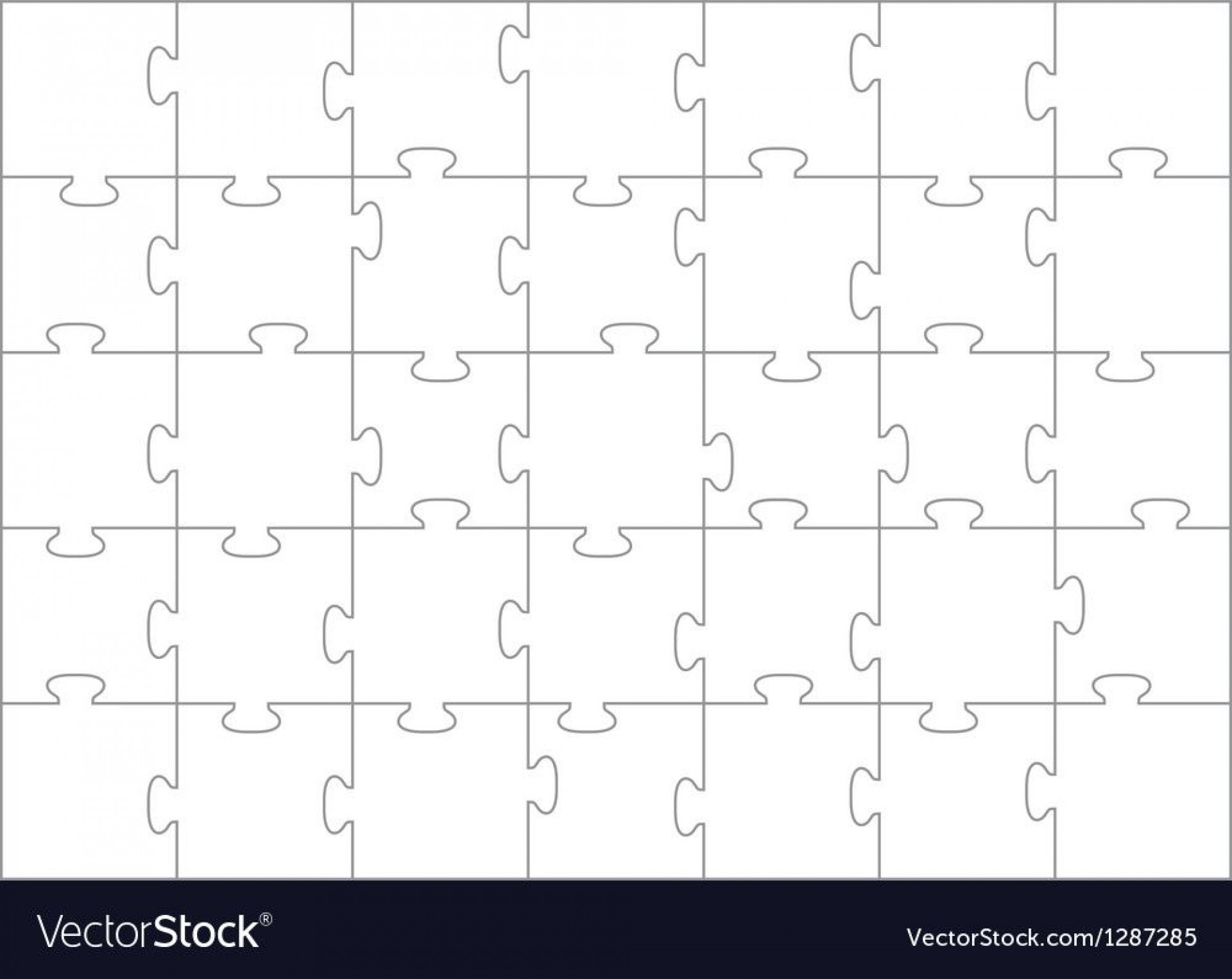 008 Dreaded Jig Saw Puzzle Template High Definition  Printable Blank Jigsaw Vector Free Png1920