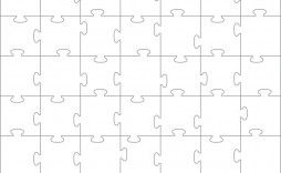 008 Dreaded Jig Saw Puzzle Template High Definition  Printable Blank Jigsaw Vector Free Png