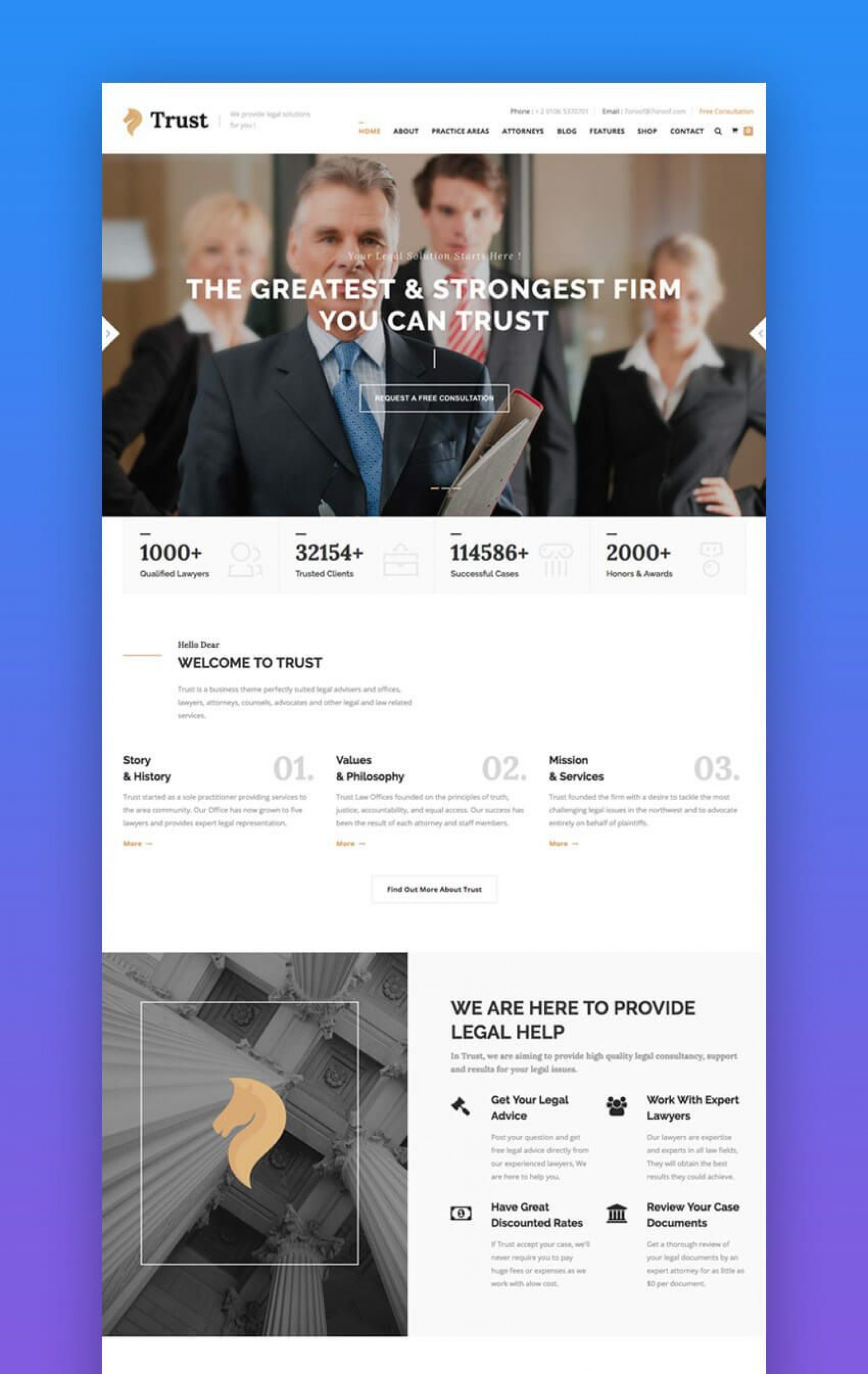 008 Dreaded Law Firm Website Template Free Picture  Wordpres1920