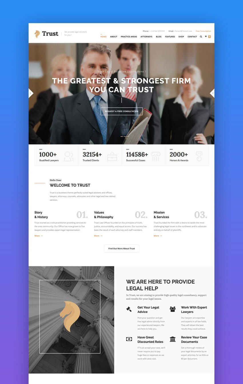 008 Dreaded Law Firm Website Template Free Picture  WordpresFull