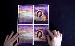008 Dreaded Memorial Card Template Free Download Inspiration