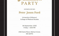 008 Dreaded Microsoft Word Graduation Party Invitation Template High Definition
