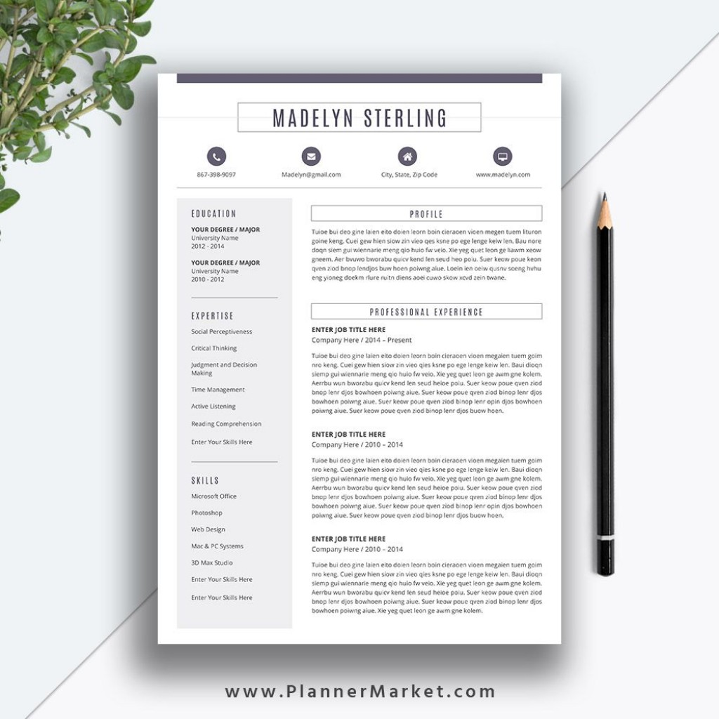 008 Dreaded Microsoft Word Resume Template 2020 Inspiration  FreeLarge