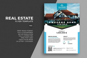 008 Dreaded Real Estate Advertising Template Picture  Newspaper Ad Instagram Craigslist360