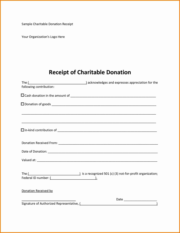 008 Dreaded Tax Deductible Donation Receipt Printable Concept Full