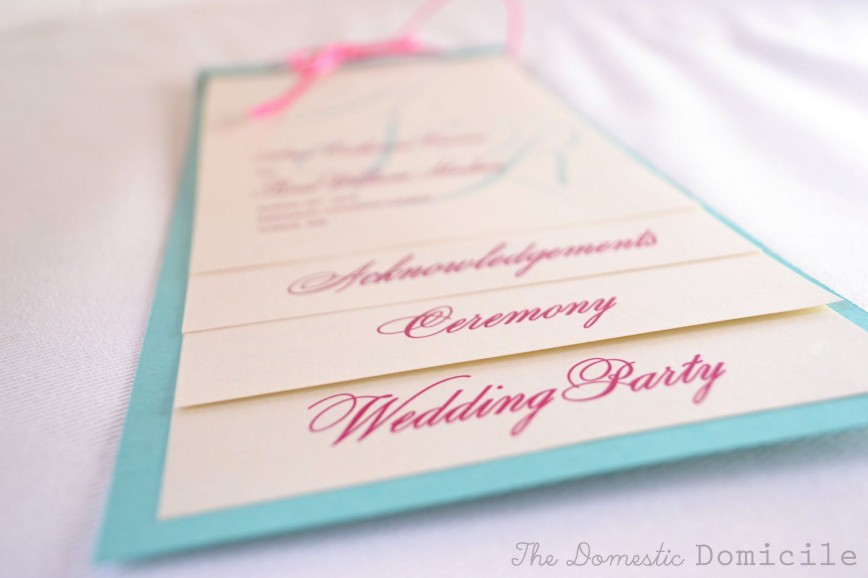 008 Dreaded Wedding Program Template Free Download Picture  Editable Word