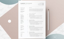 008 Excellent 1 Page Resume Template Highest Clarity  Templates One Basic Word Free Html Download