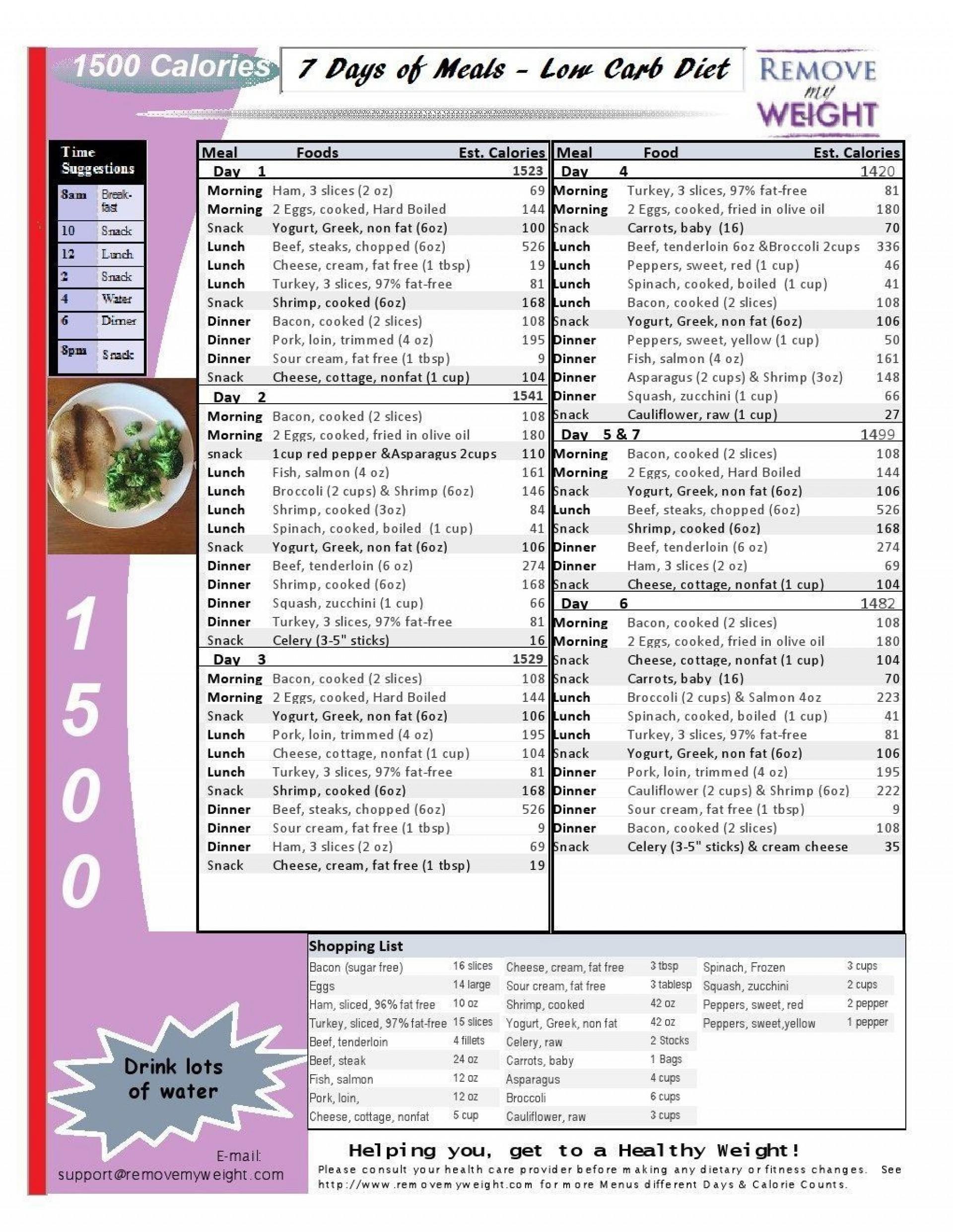 008 Excellent 1400 Calorie Sample Meal Plan Pdf High Def 1920