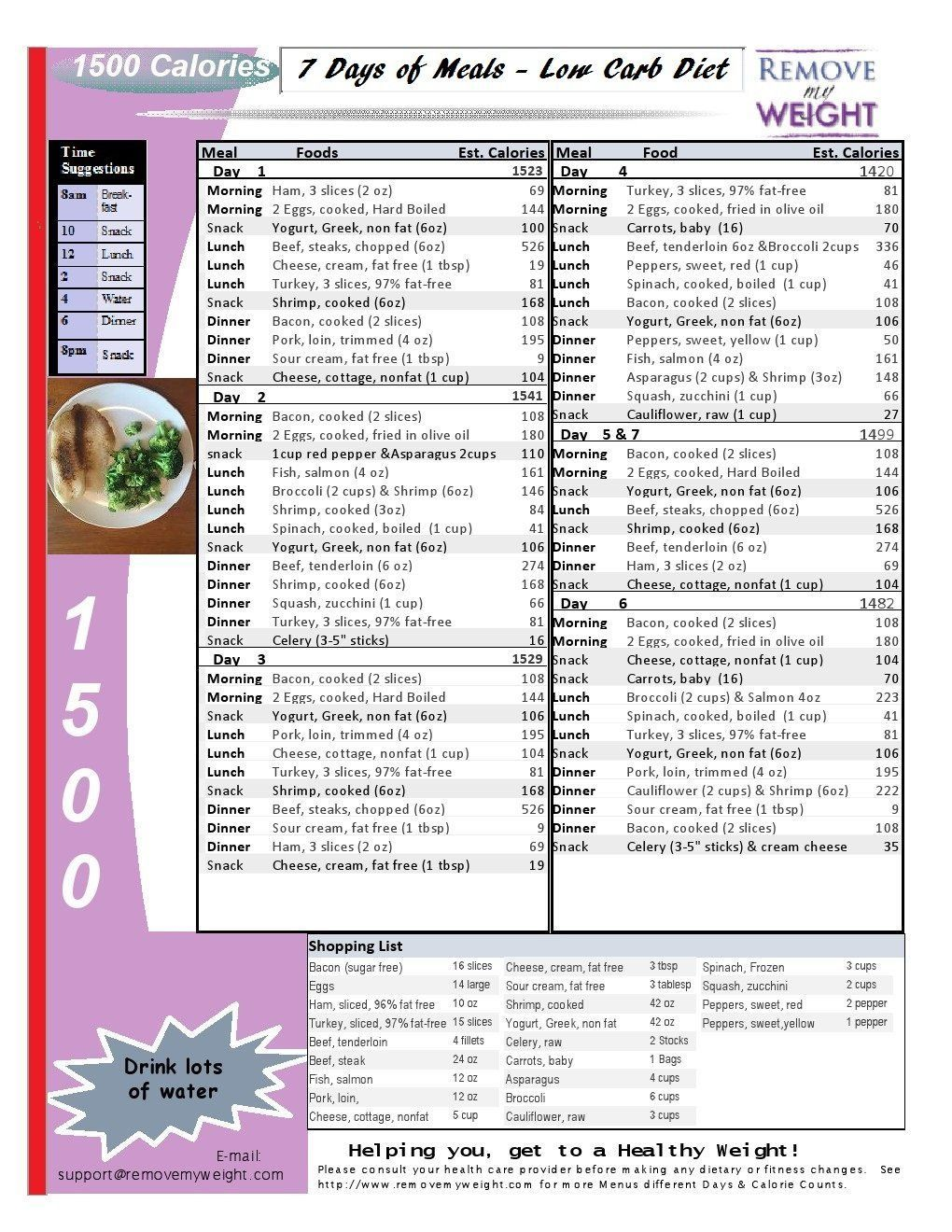 008 Excellent 1400 Calorie Sample Meal Plan Pdf High Def Full
