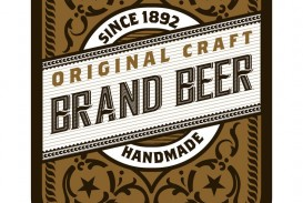 008 Excellent Beer Label Design Template  Free