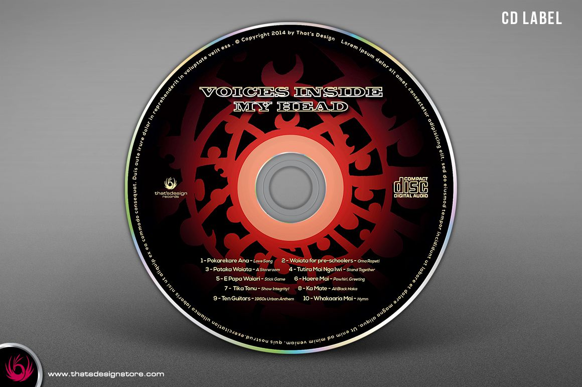 008 Excellent Cd Design Template Photoshop Photo  Label Psd Free Download CoverFull