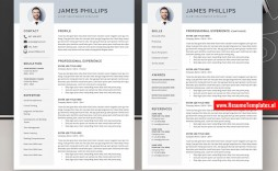 008 Excellent Curriculum Vitae Word Template Highest Clarity  Templates Download M 2019 Cv Free