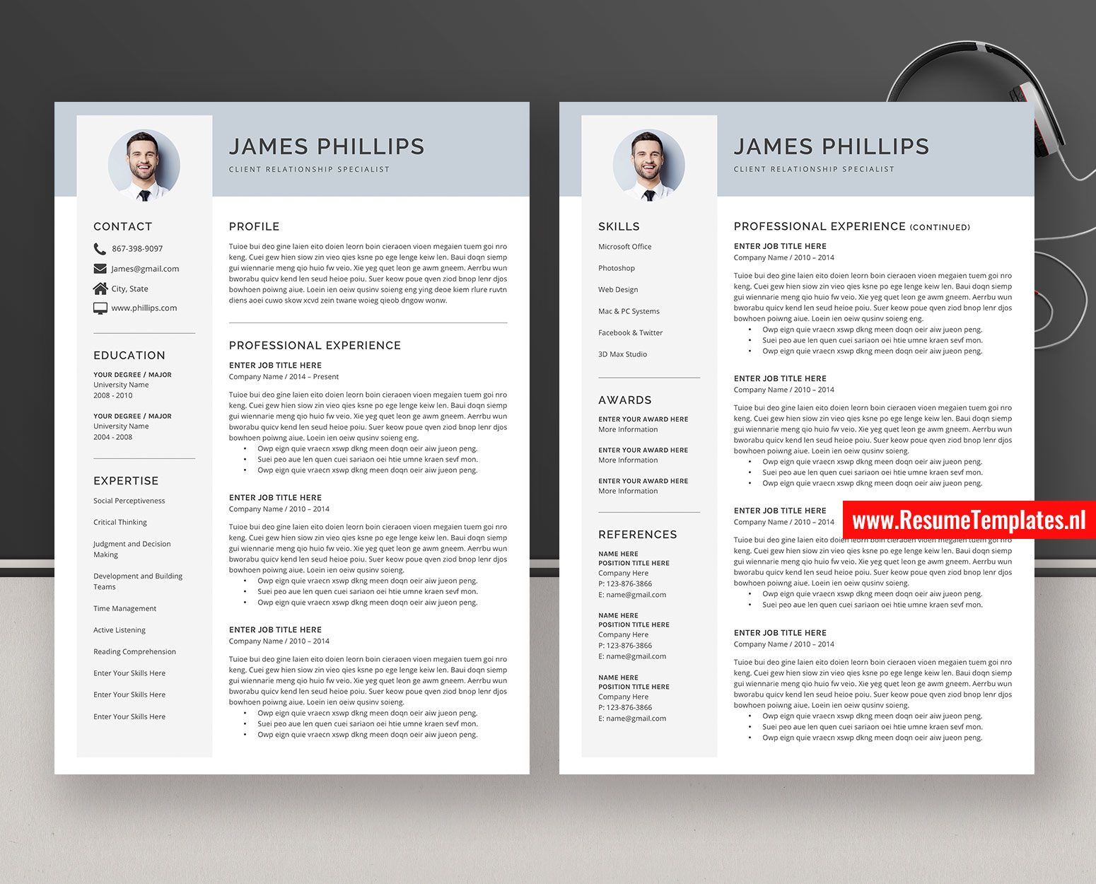 008 Excellent Curriculum Vitae Word Template Highest Clarity  Templates Download M 2019 Cv FreeFull