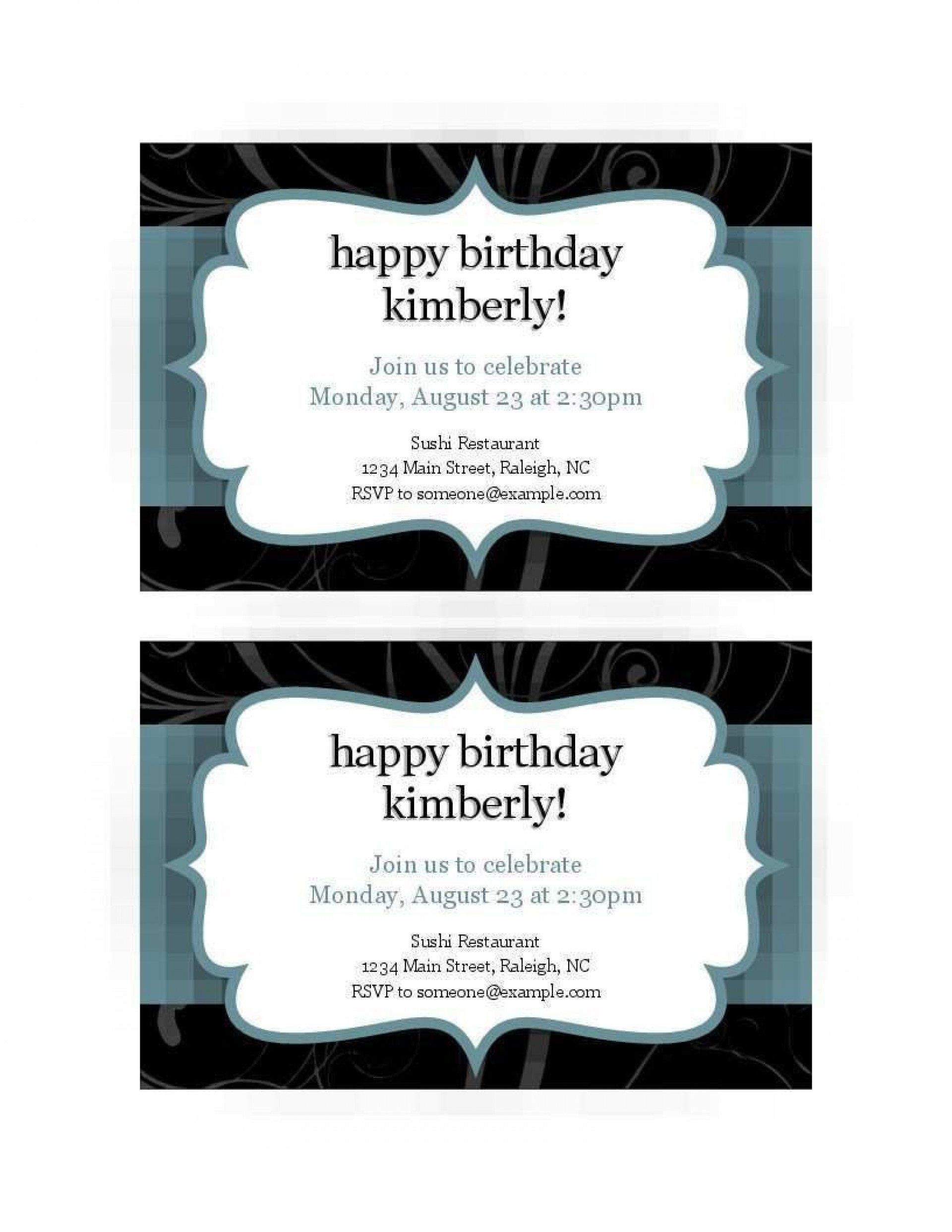 008 Excellent Free Busines Invitation Template For Word Highest Quality 1920