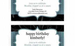 008 Excellent Free Busines Invitation Template For Word Highest Quality