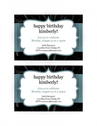 008 Excellent Free Busines Invitation Template For Word Highest Quality 320