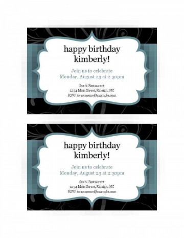 008 Excellent Free Busines Invitation Template For Word Highest Quality 360