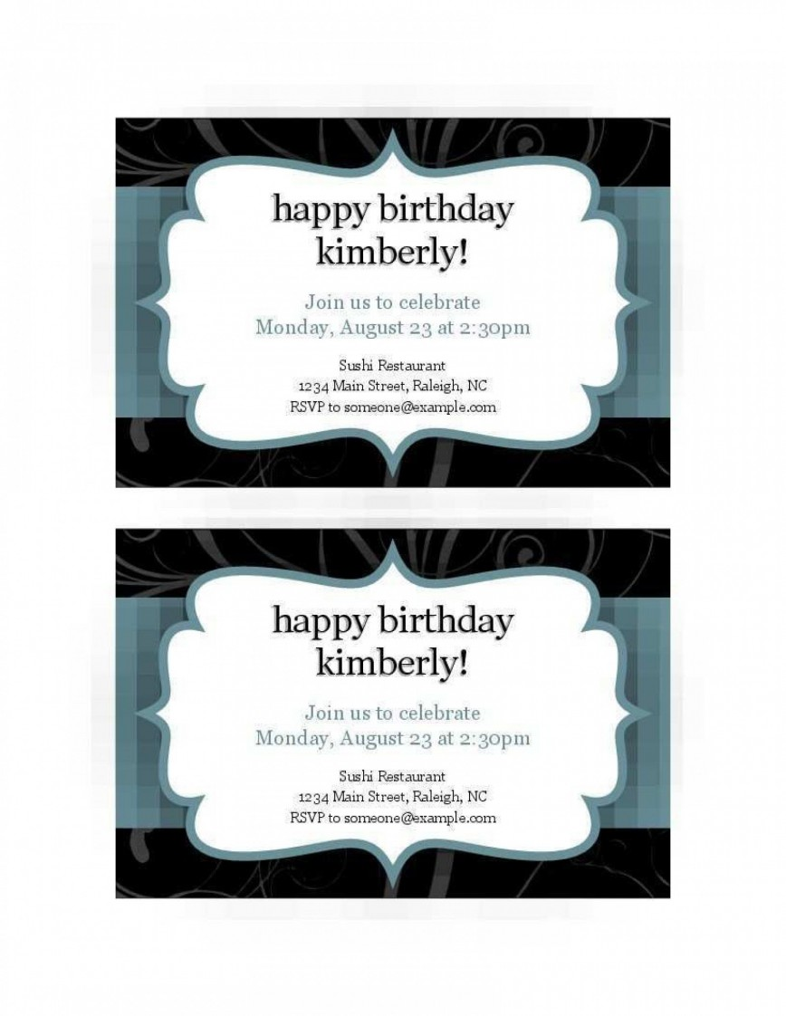 008 Excellent Free Busines Invitation Template For Word Highest Quality 868