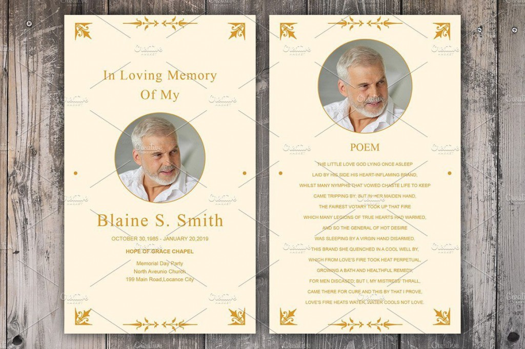 008 Excellent Funeral Prayer Card Template Picture  Templates For Word FreeLarge