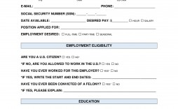 008 Excellent Job Application Template Word Idea  Letter Sample File Document