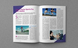 008 Excellent Magazine Template Free Word Highest Quality  For Microsoft Download Article