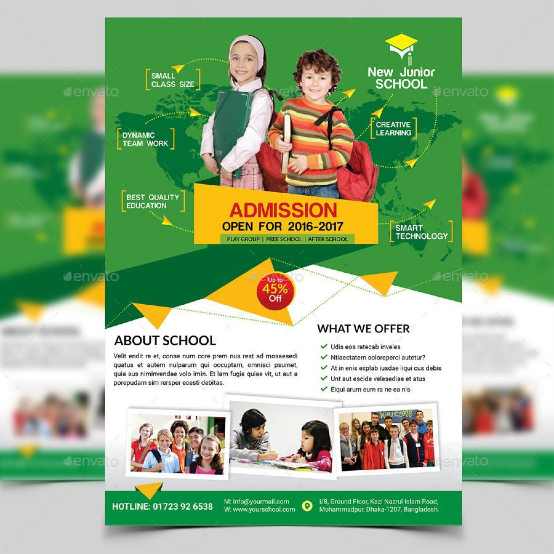 008 Excellent School Picture Day Flyer Template Example  Free1920