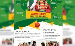 008 Excellent School Picture Day Flyer Template Example  Free