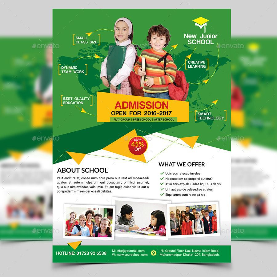 008 Excellent School Picture Day Flyer Template Example  FreeFull