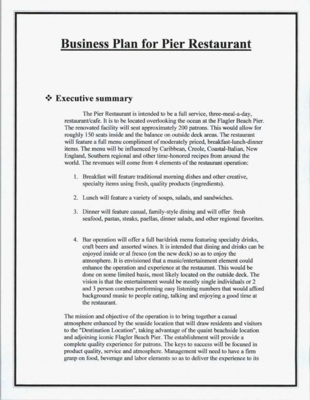 008 Excellent Score Busines Plan Template Highest Quality  SmallLarge