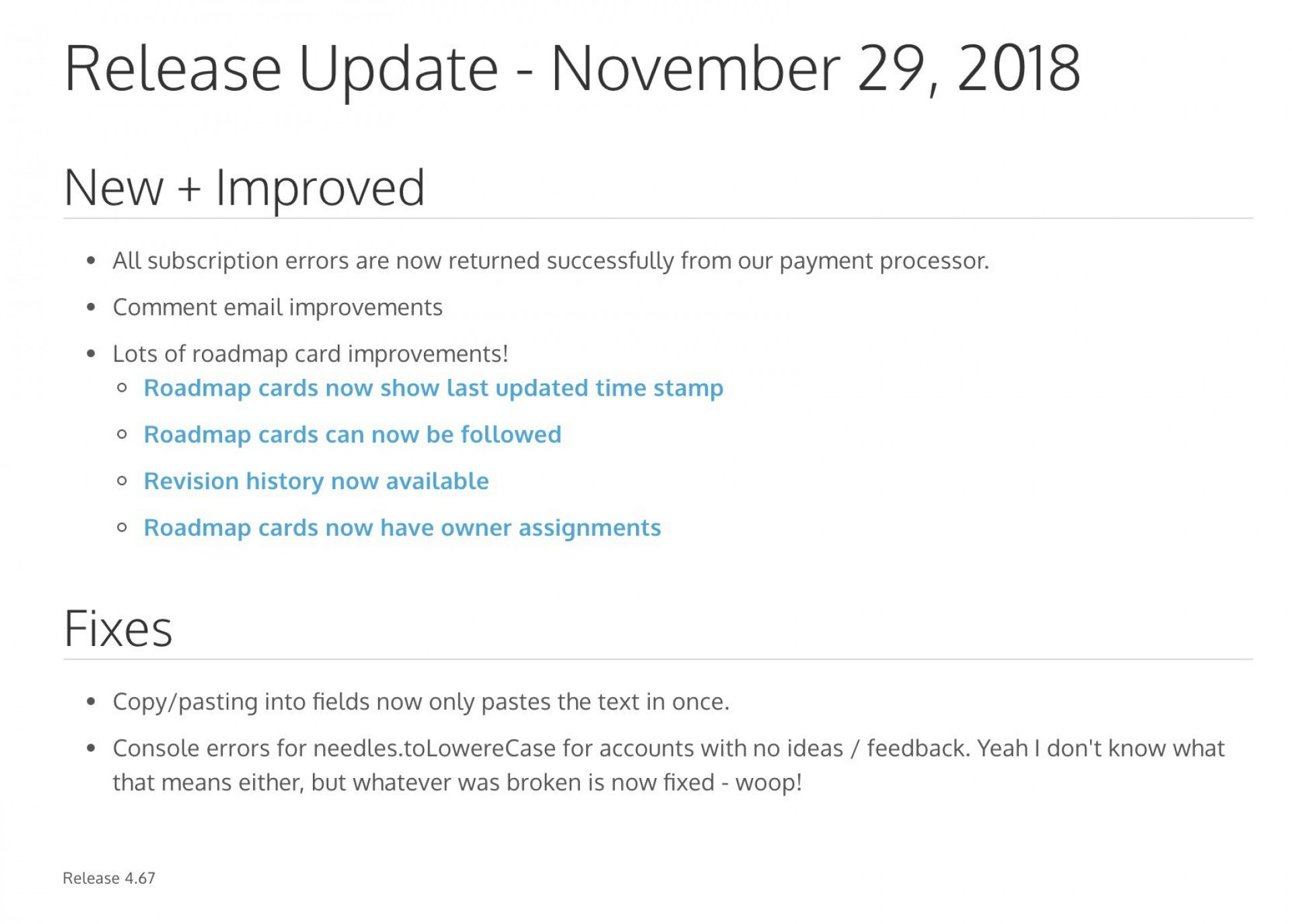 008 Excellent Software Release Note Template Concept  Free Download Sample Microsoft Word1920