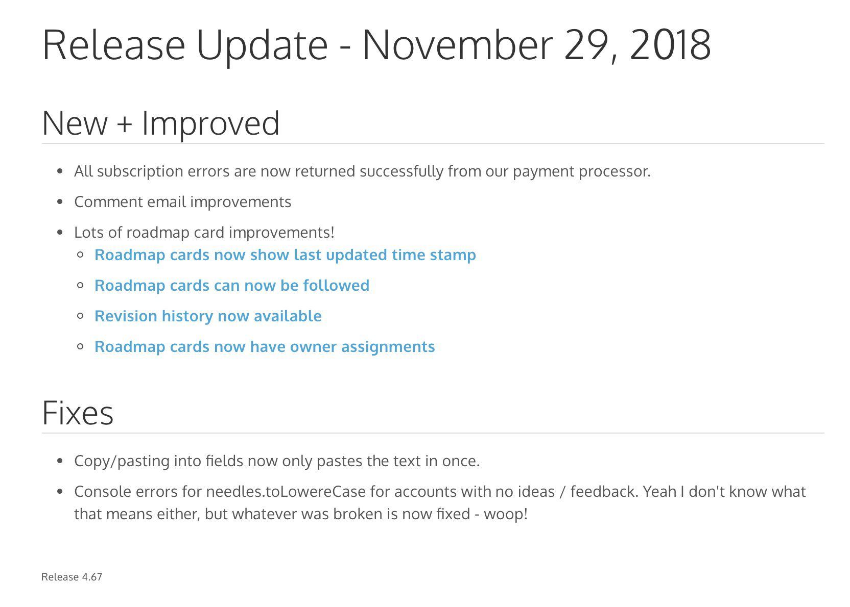 008 Excellent Software Release Note Template Concept  Free Download Sample Microsoft WordFull