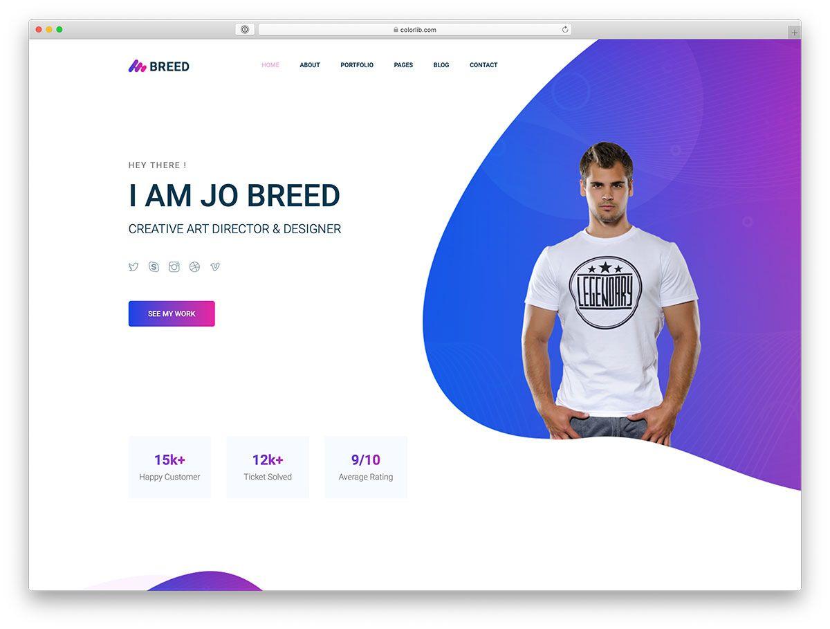 008 Excellent Web Developer Portfolio Template High Definition  Templates Best Design Theme Free WordpresFull