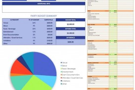 008 Exceptional Event Budget Template Excel High Definition  Download 2010 Planner