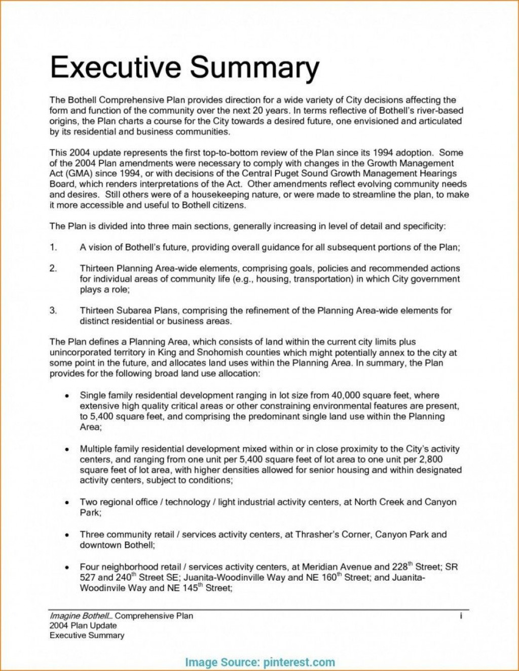 008 Exceptional Executive Summary Template Word Free Highest Quality Large