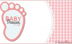 008 Exceptional Free Baby Shower Invitation Template Editable Example  Digital Microsoft Word