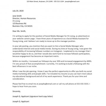 008 Exceptional Free Download Cover Letter Sample  For Fresher Pdf Template360