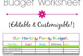008 Exceptional Free Monthly Budget Template Inspiration  Household Excel Expense Report Download