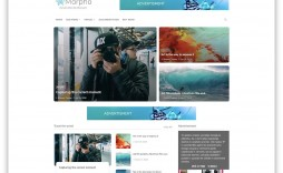 008 Exceptional Free Responsive Blogger Template 2018 Highest Quality