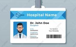 008 Exceptional Id Badge Template Free High Definition  School Teacher Jurassic Park