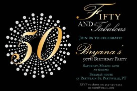 008 Exceptional Microsoft Word 50th Birthday Invitation Template Highest Quality  Editable Wedding Anniversary