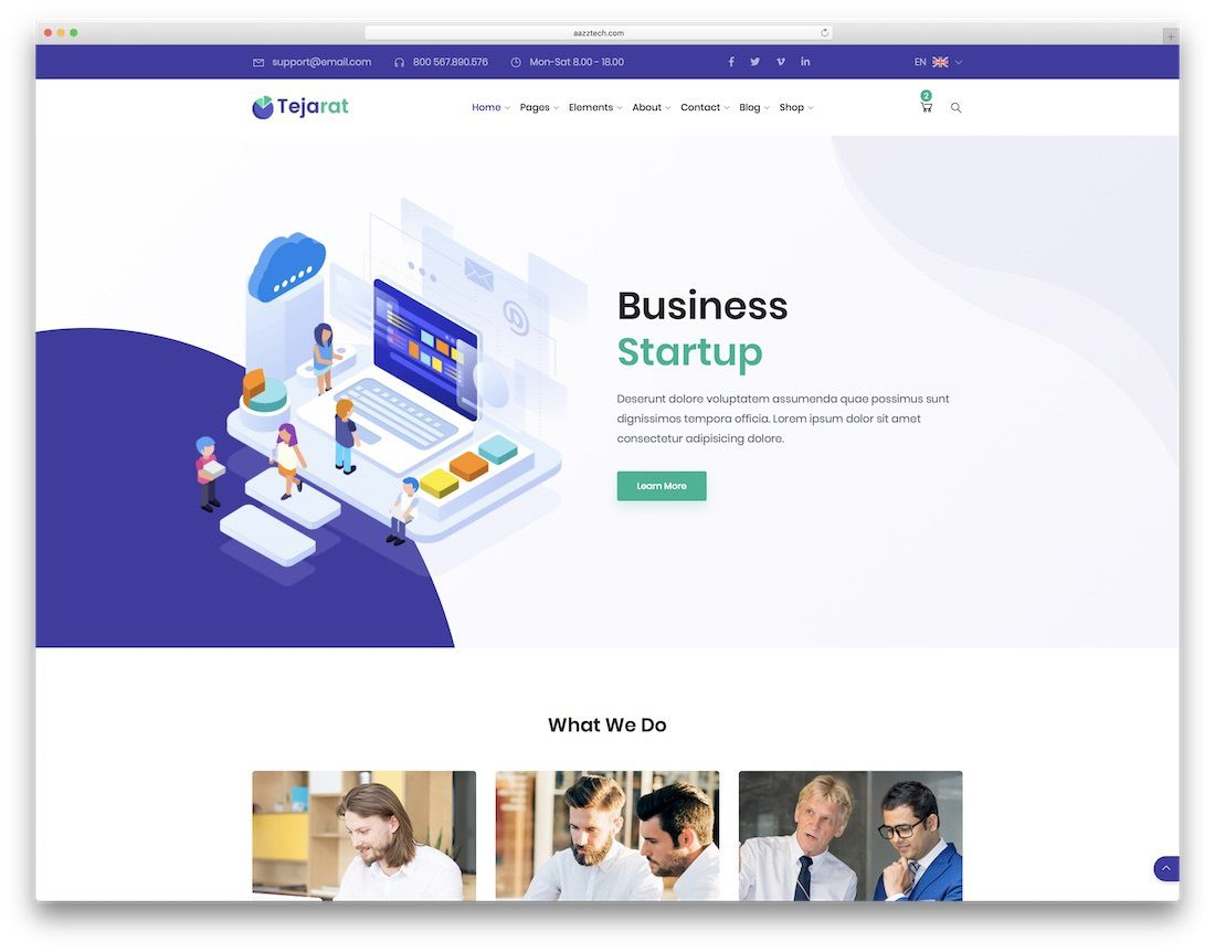 008 Exceptional Mobile Friendly Web Template Concept  Templates Free PageFull