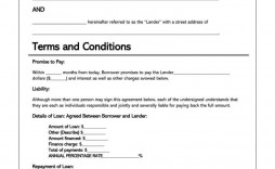 008 Exceptional Personal Loan Agreement Template Idea  Templates Uk Word Sample Canada