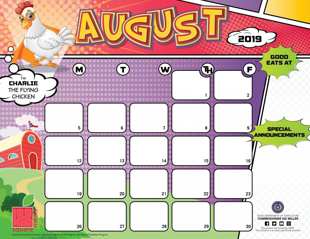 008 Exceptional School Lunch Menu Template High Def  Monthly Free Printable BlankLarge