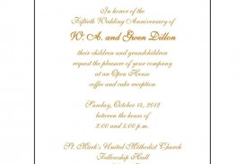 008 Fantastic 50th Anniversary Invitation Wording Sample Inspiration  Wedding 60th In Tamil Birthday