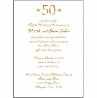008 Fantastic 50th Anniversary Invitation Wording Sample Inspiration  Wedding 60th In Tamil Birthday320
