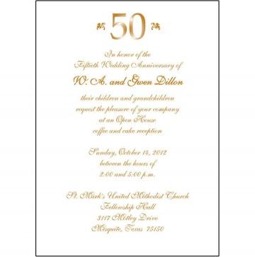 008 Fantastic 50th Anniversary Invitation Wording Sample Inspiration  Wedding 60th In Tamil Birthday360
